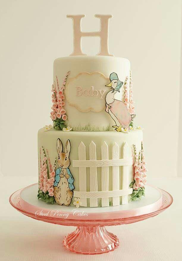 Beatrix Potter cake