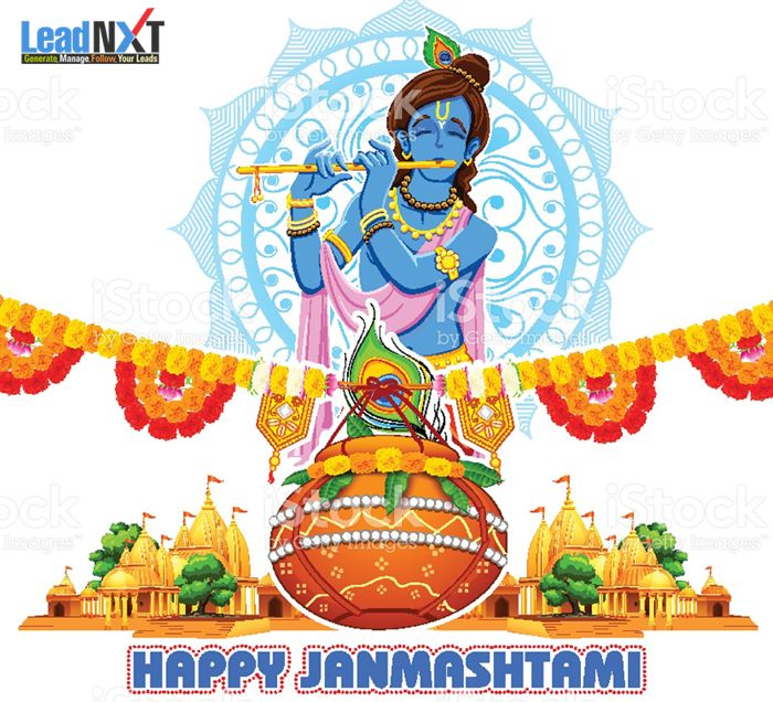 May you find a true love of your life on this #Janmashtami so that you can get lots of blessing in form of shower….Happy Janmastami !! #LeadNXT #HappyJanmashtami www.leadnxt.com