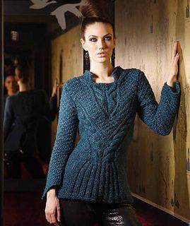 Ravelry: 2116 Ladies' Sweater pattern by Schachenmayr Select Design Team