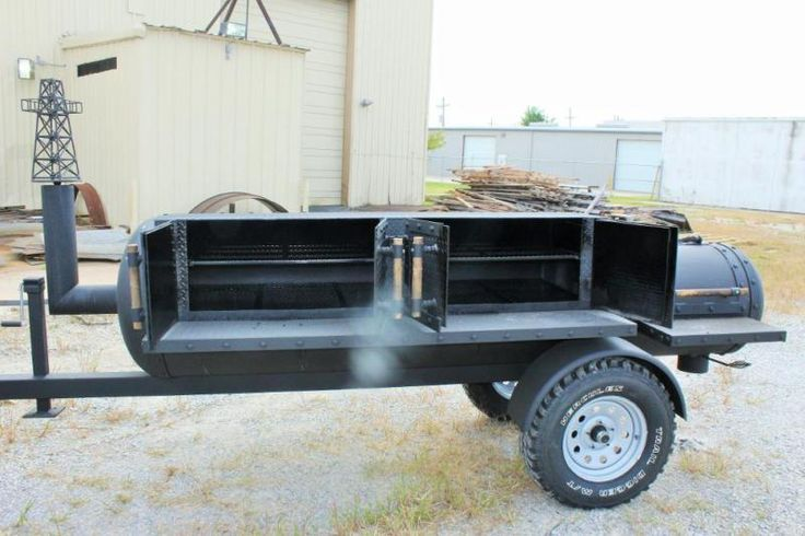 Smoker Grill Trailer - For Sale Classifieds