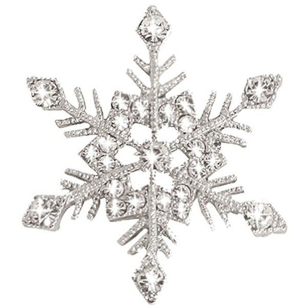 Winter Majesty Swarovski Crystal Silver Tone Snowflake Brooch ($33) ❤ liked on Polyvore featuring jewelry, brooches, swarovski crystal jewellery, snowflake brooch, swarovski crystals jewelry, snowflake jewelry and silvertone jewelry