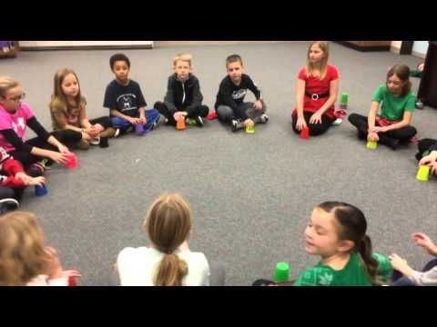 Sleigh Ride: Super Easy Cup Routine - YouTube | Joulu | Pinterest