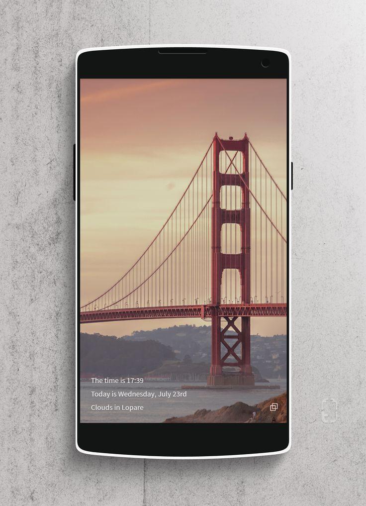Glass Tiles Android Homescreen by rabrot - MyColorscreen