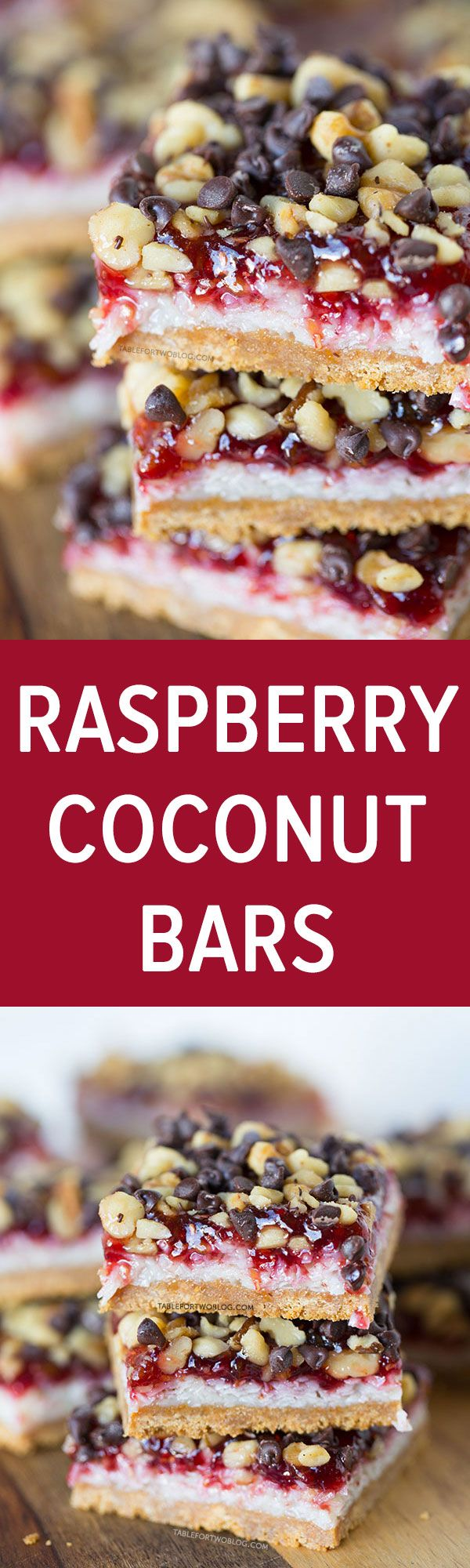 These raspberry coconut bars are every coconut and raspberry lover's dream! It will satisfy any sweet tooth!