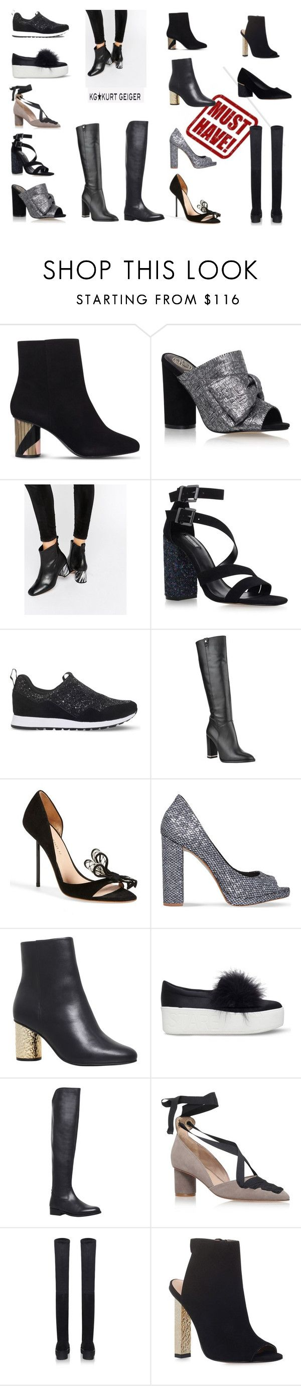 """Kurt Geiger shoes"" by christina-mos ❤ liked on Polyvore featuring Kurt Geiger, KG Kurt Geiger and Carvela Kurt Geiger"