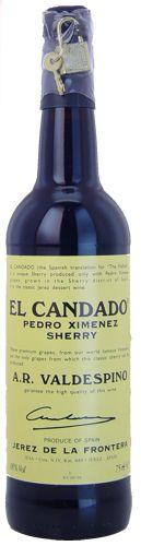 Spain intro - El Candado Pedro Ximenez sherry (Jerez)