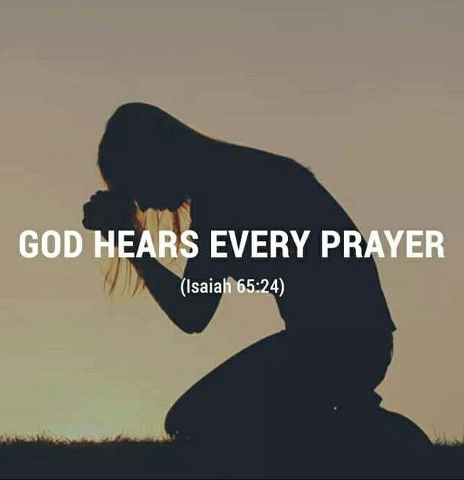 Never stop praying ❣✞ Amen