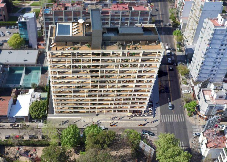 DOMUS LIBERTADOR - Proyecto C.  Diseño de vanguardia, moderno y flexible. Departamentos de 1 a 4 dormitorios con dependencia, cochera y amenities.
