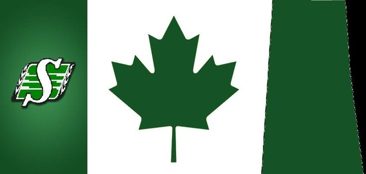 Roughrider Flag   Saskatchewan Roughriders
