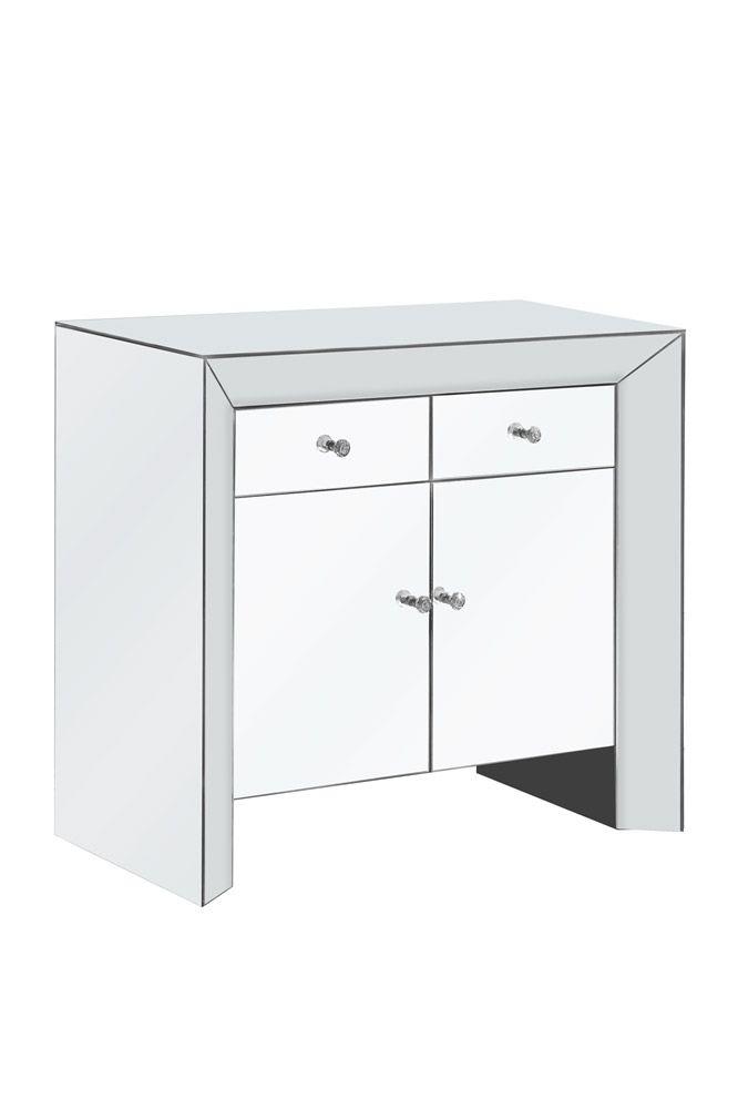 Mirage Cabinet (MF5 5108) By Elegant Lighting
