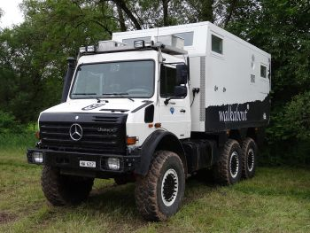 Unicat Mercedes-Benz Unimog U4000 6×6 MD52h '2011–pr.