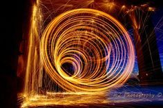 How To Create A Steel Wool Light Painting Vortex