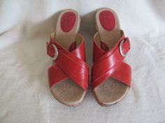 """Women's B.O.C. Born Concept Red Sandals Size 8 Casual Sexy Dressy Work Shoes <a class=""""pintag searchlink"""" data-query=""""%23BOCBornConcept"""" data-type=""""hashtag"""" href=""""/search/?q=%23BOCBornConcept&rs=hashtag"""" rel=""""nofollow"""" title=""""#BOCBornConcept search Pinterest"""">#BOCBornConcept</a> <a class=""""pintag searchlink"""" data-query=""""%23Slides"""" data-type=""""hashtag"""" href=""""/search/?q=%23Slides&rs=hashtag"""" rel=""""nofollow"""" title=""""#Slides search Pinterest"""">#Slides</a>"""