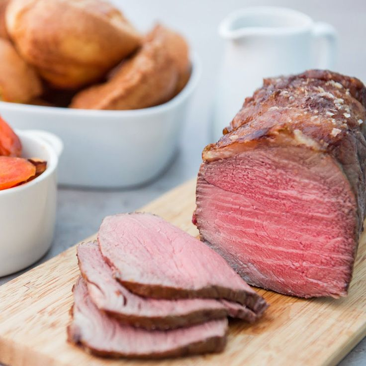 How to Cook Roast Rump Joint with Yorkshire Puddings