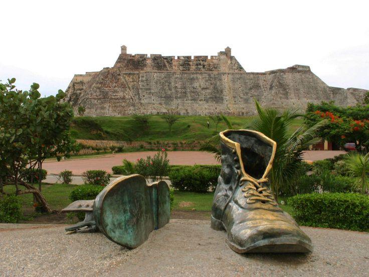 Sitios interesantes de Colombia - Los Zapatos Viejos, Cartagena