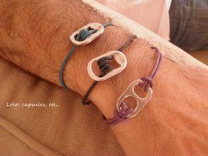 Bracelet cordon cuir homme 5€