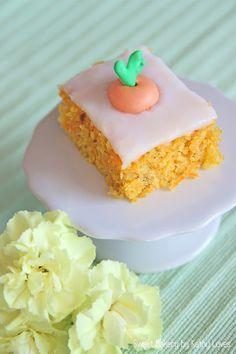 Happy Easter Frohe Ostern Möhrenkuchen Kuchen Carrot Cake Sugar Decoration