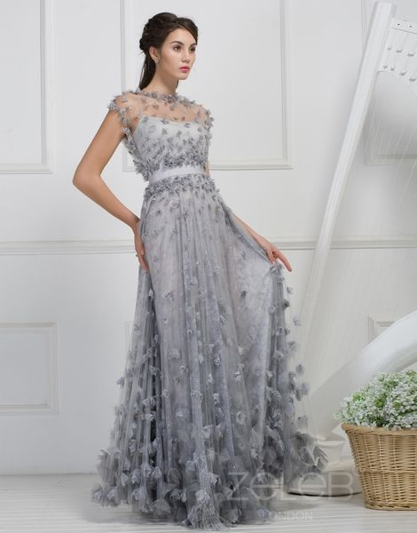 Amazing silver wedding dresses for older brides BlogOnSuccess