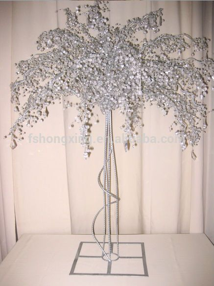 Source CT589 wholesale crystal tree centerpieces for wedding and party decoration on m.alibaba.com