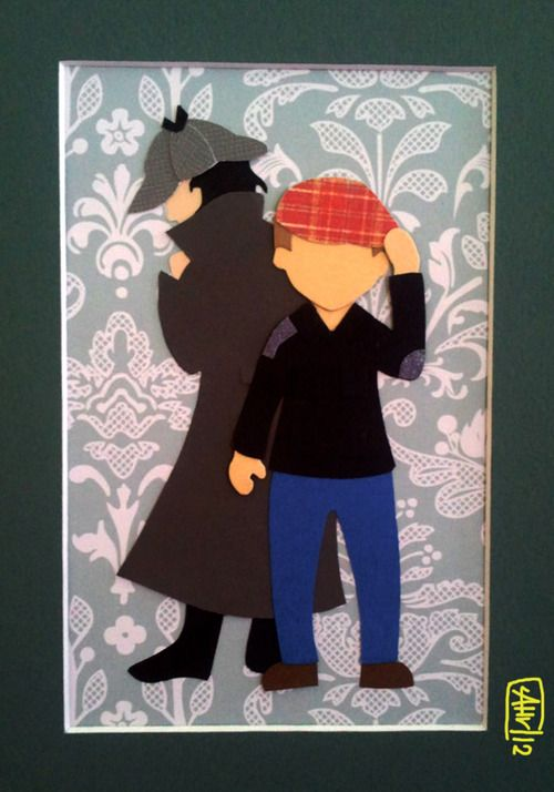 Sherlock Paper Craft