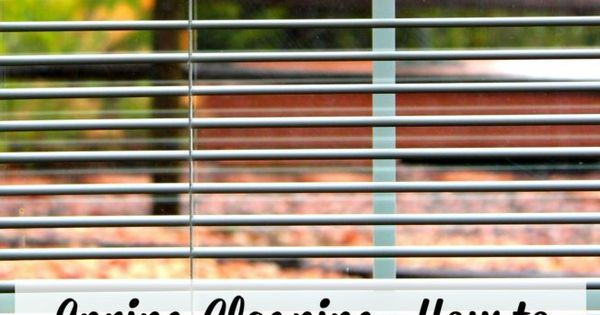 Spring Cleaning: How to clean your vinyl or aluminum mini-blinds. It's so simple!  afreshsqueezedlifecom