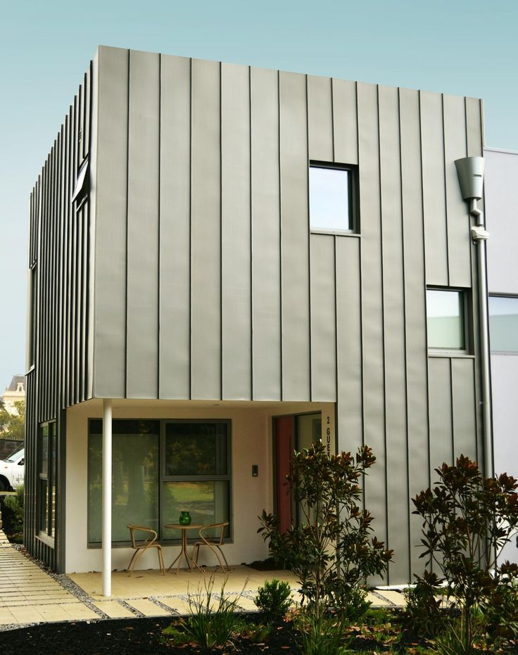 Grey Single Lock Standing Seam (Zinc) | Design Cladding
