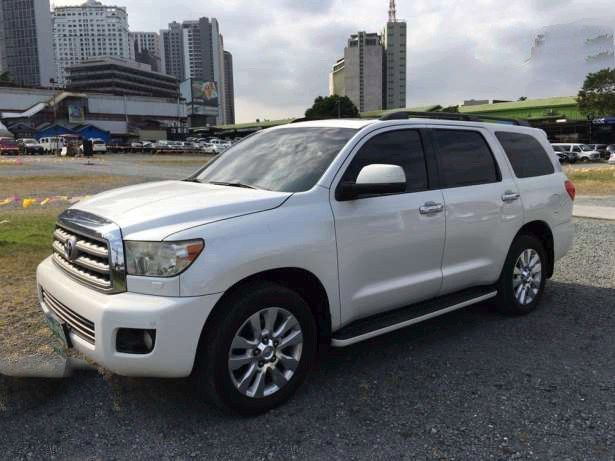 Rush Sale Top of the Line First Owned 2010 Toyota Sequoia Platinum Factory Leather Seats Captain Seats with TV DVD GPS System with Height Control Original Paint Very Fresh Call 09175287233 for more info or click image for Price #toyota #toyotasequoia #sequoia      #carsforsale  #genevamotorshow #autotradephils #carfinderph #buysellph    Please LIKE and SHARE this Best Buy SUV .. Thank You