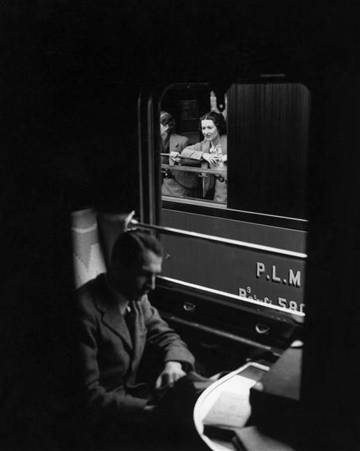 classiclibrarian:    wine-loving-vagabond:    sealmaiden:    MarcelBovis (1904-1997)  Sleeper Car 1939