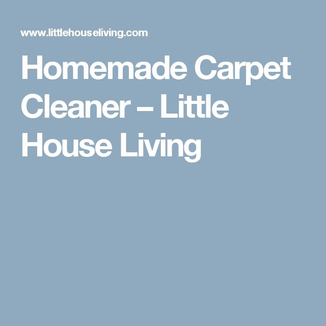 Diy Fabric Upholstery Cleaning: Best 20+ Homemade Carpet Cleaners Ideas On Pinterest