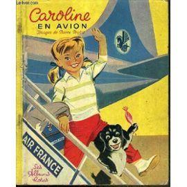 Caroline en avion
