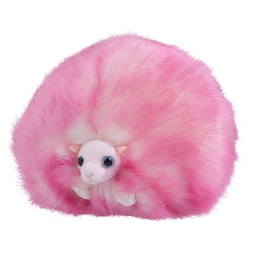 "Harry Potter – Plush Pink Pygmy Puff - ""They've been known to sing on Boxing Day"" - http://geekarmory.com/harry-potter-pink-pygmy-puff/"