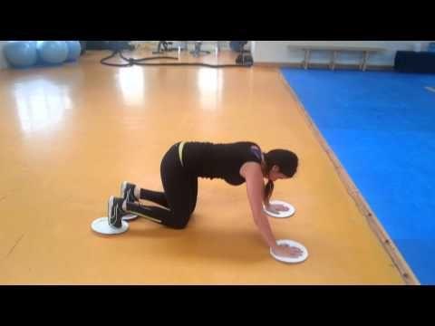 ▶ Paper Plates Workout -dutchyfitness.com
