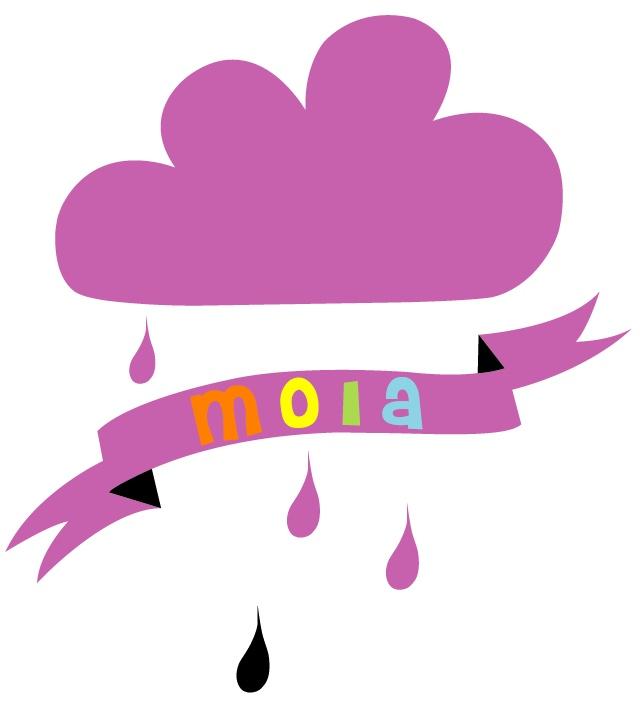 Moia embroidery emblem.  www.moiaform.no