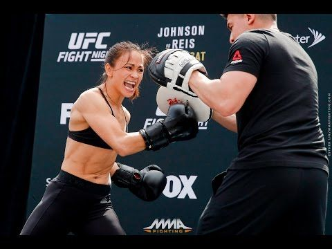 MMA UFC on FOX 24: Michelle Waterson Open Workout (Complete) - MMA Fighting