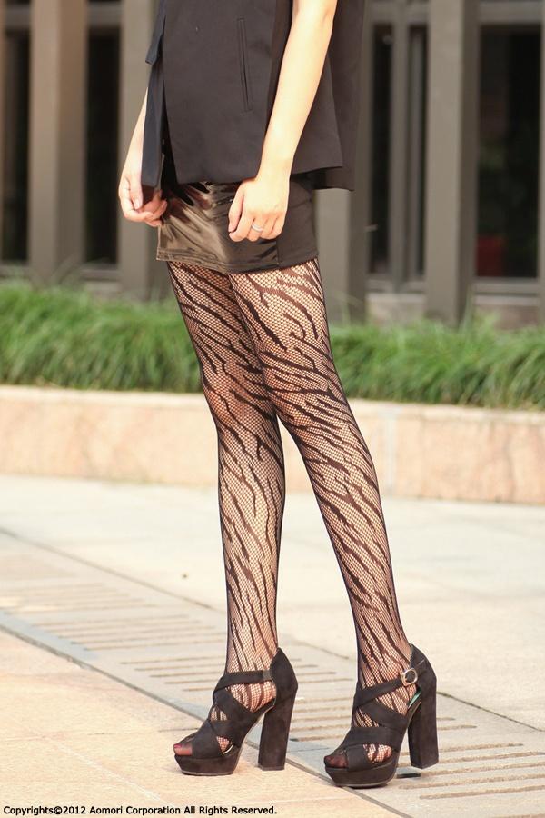 Zebra Ruschel Tights