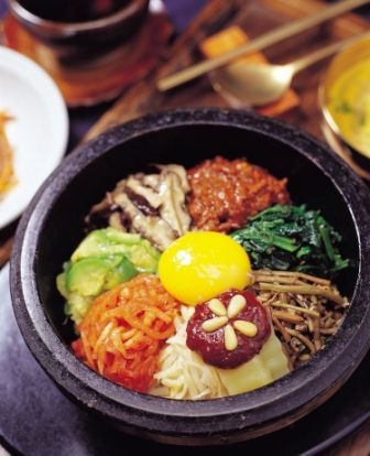 Bibimbap; one of the better foodies in South Korea.