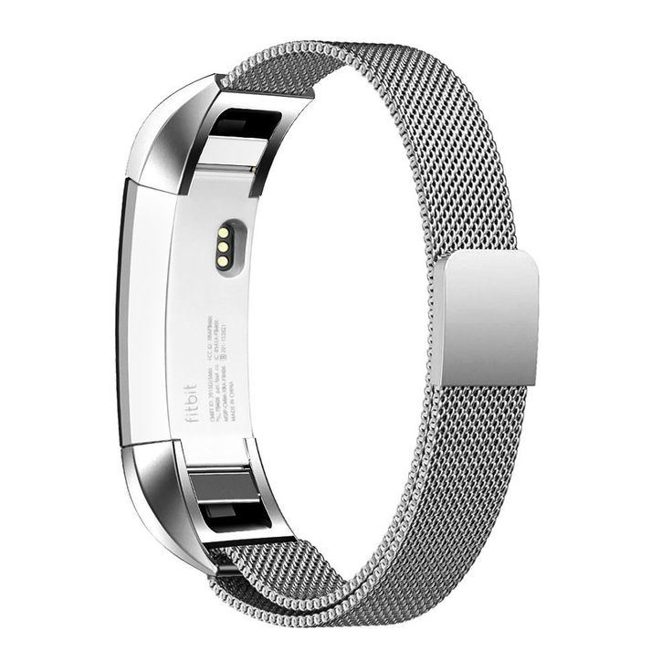 Fitbit Alta HR armband - Silver