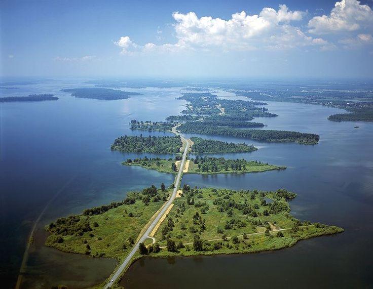 Thousand Islands, Canada.
