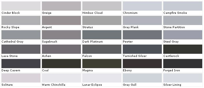 Valspar paints valspar paint colors valspar lowes Different colours of grey paint