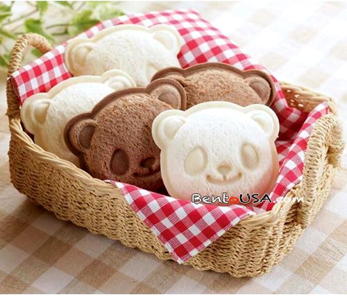 How to make Panda Sandwich Bento Lunch | AllThingsForSale Bento USA