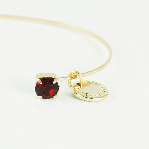 CATERINA MARIANI BIJOUX Swarovski Siam Bracelet | La Luce http://shoplaluce.com/collections/caterina-mariani-bijoux/products/caterina-mariani-bijoux-swarovski-siam