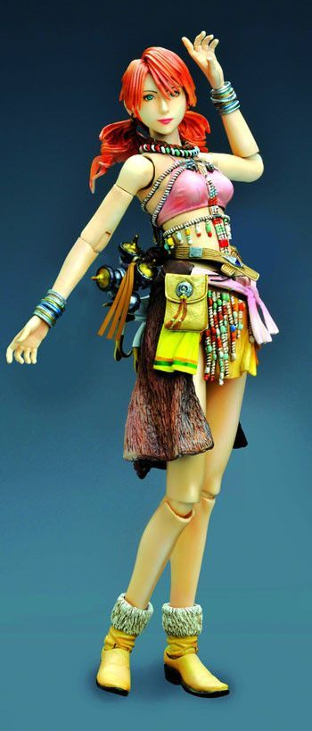 Based on Final Fantasy XIII, the best selling role-playing game from the Xbox 360 and the PlayStation 3 comes this highly detailed figure. Here you will receive Oerba Dia Vanille. Created after the ch