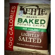 B- Kettle Potato Chips, Baked, Lightly Salted on @Fooducate  Fooducate grades foods based on their nutrients and ingredients.  Give it a try!