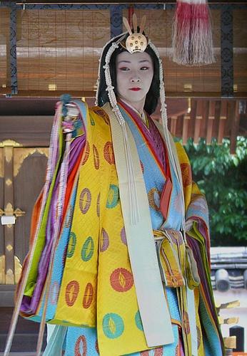 Japanese ancient 12 layers kimono, Juni-hitoe 十二単