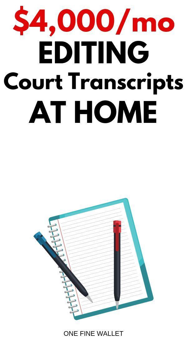 Verdiene online als Skopist Geld und bearbeite die Gerichtsakten. Verdiene bis zu $ 4.000 …   – Jobs