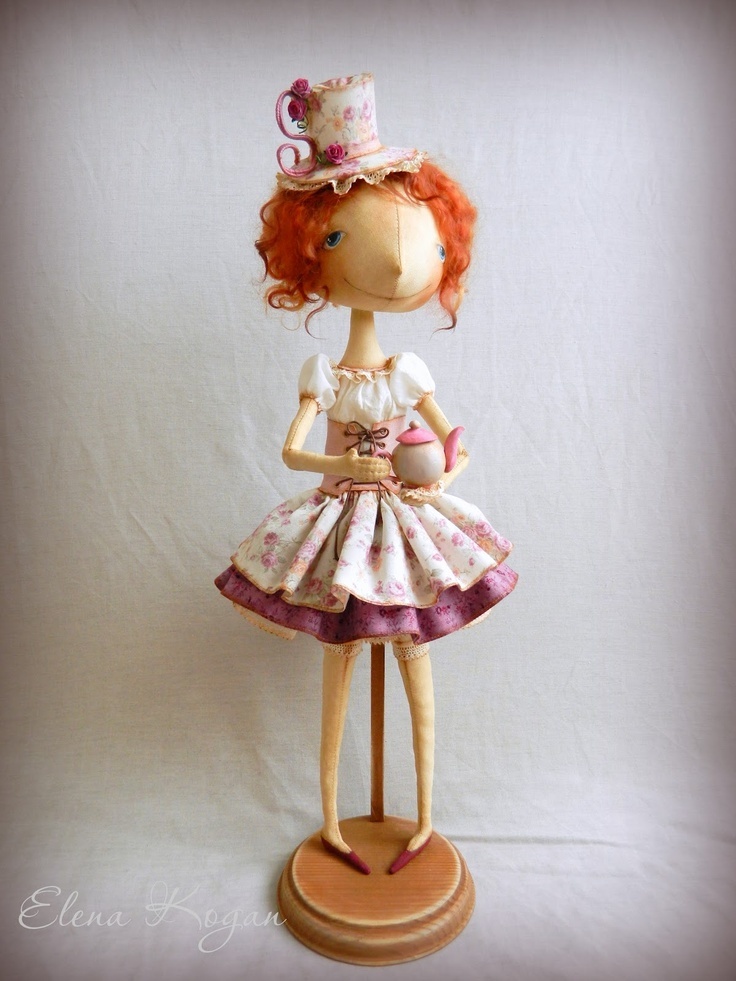 by Elena Kogan, doll-making goddess!
