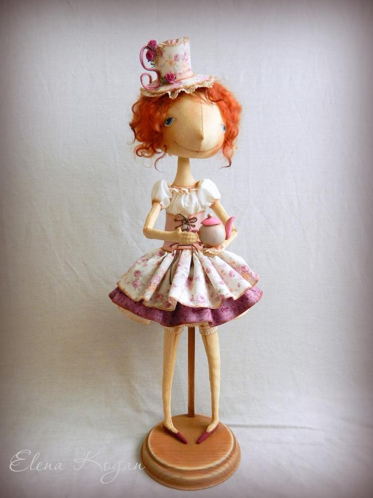 by Elena Kogan, doll-making goddess!
