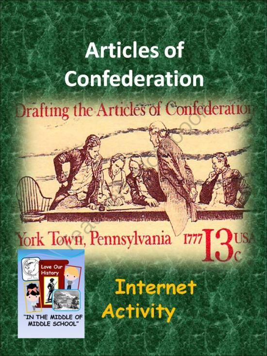 a history of the article of confederation This is the collection of important documents that made the history of the   why the confederation failed  an easy to use article submission software tool.