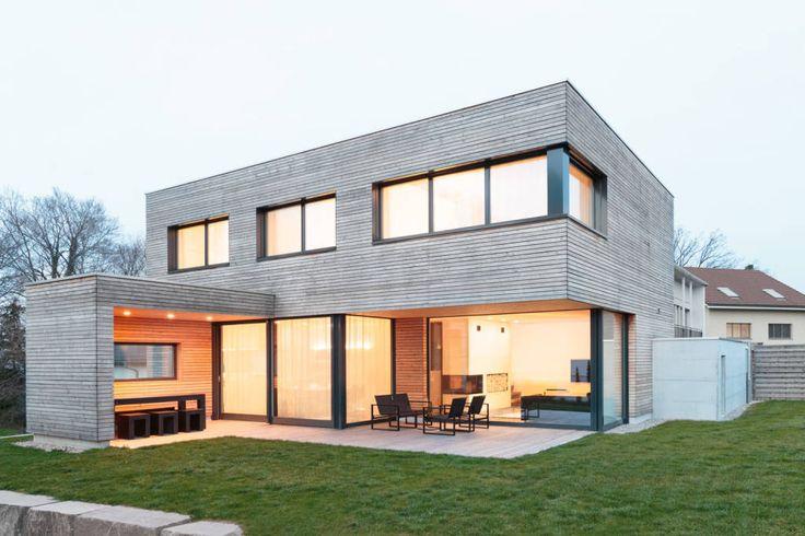 Finde moderne Häuser Designs: EFH Kirchberg. Entdecke die schönsten Bilder zur Inspiration für die Gestaltung deines Traumhauses.