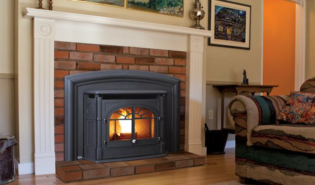 Fireplace Inserts Product | The Empress Pellet Fireplace Insert